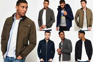 New-Mens-Superdry-Jackets-Selection-Various-Styles-amp-Colours-08102018