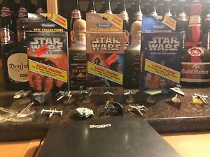 STAR WARS EPIC COLLECTION MICRO MACHINES GALOOB 1996 SET OF 3 NEW+ 13 USED SHIPS