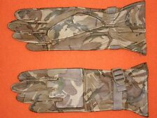GENUINE BRITISH ARMY ISSUE MTP CAMO LEATHER COMBAT GLOVES Sz 9 M SUPER G1 / NEW