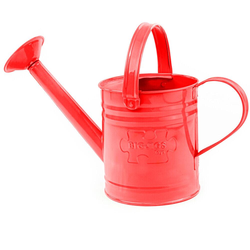 Bigjigs Toys Children's Red Watering Can Garden Gardening Kid's Outdoor