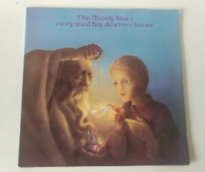 VINYL LP The Moody Blues Every Good Boy Deserves Favour Threshold THS5 NM/NM