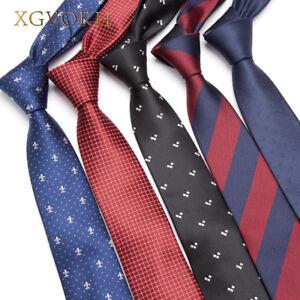 Men-skinny-Necktie-Wedding-Ties-Business-6cm-Fashion-Clothing-shirt-Accessories