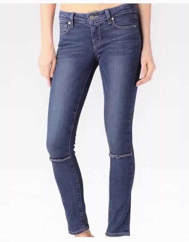 Paige premium denim Skyline Ankle Peg Skinny Jeans 27