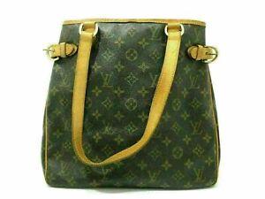 Auth Louis Vuitton Monogram Batignolles Vertical m51153 Tasche Leder 86484