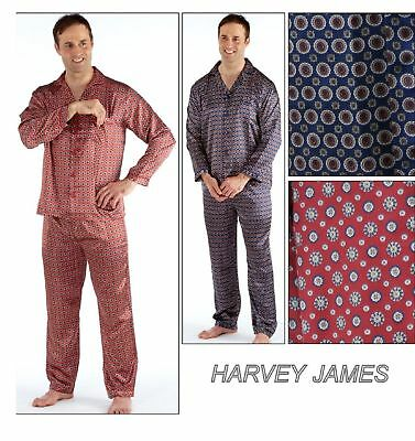 2 Pack Mens Champion Paisley Warm Brushed Cotton Pyjama nightwear lounge wear