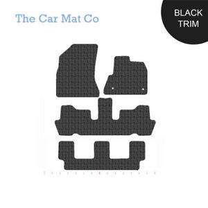 Carpets & Floor Mats Car Black Rubber Front/Rear Floor Mats Citroën C4 Picasso I 2007-2013