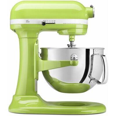 KitchenAid RKP26M1Xga Pro 600 Stand Mixer 6 qt Green Apple Big Large Capacity