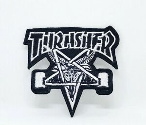 New Thrasher logo Iron on or Sew on Embroidered Patch