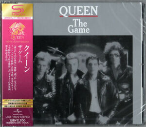 QUEEN-THE-GAME-JAPAN-SHM-CD-E50