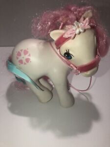 1984 My Little Pony MLP G1 Sundance Playset Pony White Pink Bridle