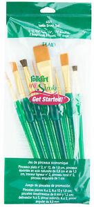 Plaid-FolkArt-One-Stroke-Ergonomic-Soft-Grip-Value-Brush-Set-8-Piece-4321