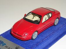1/43 BBR Maserati Coupe GT from 2002 in Red on Alcantara Base base