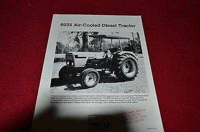 Deutz Allis Chalmers 7085 7110 7120 7145 Tractor Dealer/'s Brochure LCOH