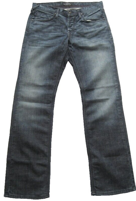 DRY AGED DENIM JAMES JEANS Damen Jeanshose Gr. 32 Blau