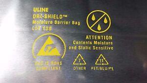 Details about 10 PACK DRI-SHIELD 3400 MOISTURE BARRIER BAG, 10