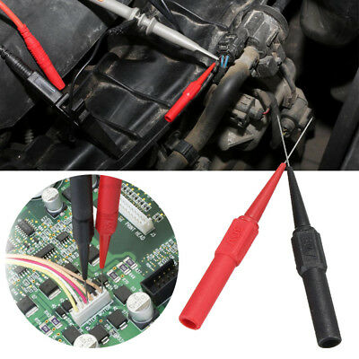 2Pcs IC Insulation Micro Pin Non-destructive Multimeter Piercing Needle Testing