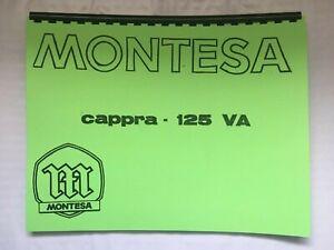 Parts / Owner Manual for Montesa Cappra 125 VA