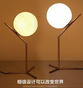 Modern glass bubble table desk lamp e14 bulb night reading flos image is loading modern glass bubble table desk lamp e14 bulb aloadofball Gallery