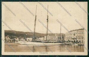 Trieste-Citta-Veliero-cartolina-ZC0554