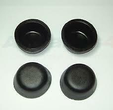 GENUINE LR FTC5414 Dust Covers x4 Land Rover Defender 93/> Rubber Hub Cap