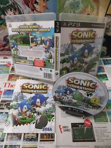 Details about PLAYSTATION 3 PS3: Sonic Generations [Top Sega & 1st Edition]  Fr