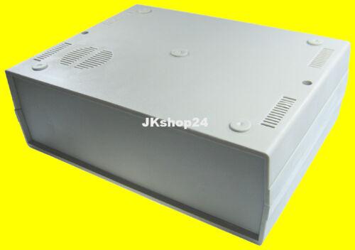 KEMO G109 Kunststoff-Schalengehäuse mit Lautsprechergrill 260 x 195 x 90 mm grau