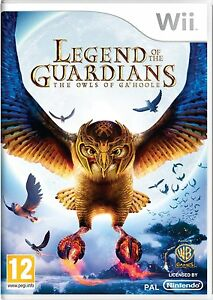 Nintendo-Wii-Warner-Brothers-Game-Legend-of-the-Guardians-NEW