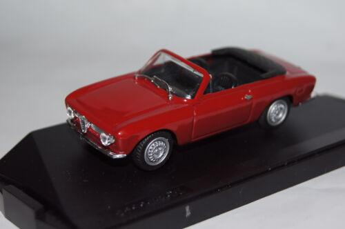 Alfa Romeo Giulia GTC Cabrio 1967 rot Progetto  neu /& OVP PK070