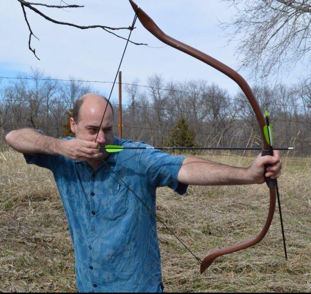 PVC Recurve Bow (Elf Bow, Horn Bow, LARP, Cosplay, LOTR, Hobbit) FREE SHIPPING