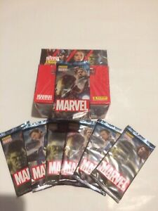 Panini-Marvel-Trading-Cards-7-Sealed-Packs-New