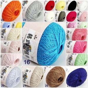 AIP-Thread-No8-Cotton-Crochet-Thread-Yarn-Craft-Tatting-Knit-Embroidery-50g-400y