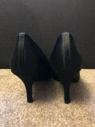 Black Heels Calzado Women Satin Cushioned 5 Ladies 3 5 tamaño 36 Clarks ftp5qwxSOO