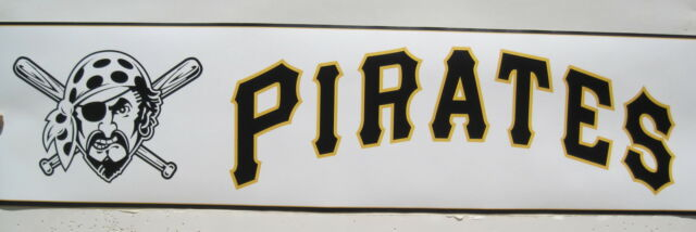 Pittsburgh Pirates Baseball Logos Wallpaper Border 6