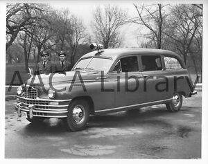 Details about 1949 Packard Henney Ambulance, Factory Photo (Ref  #62003)