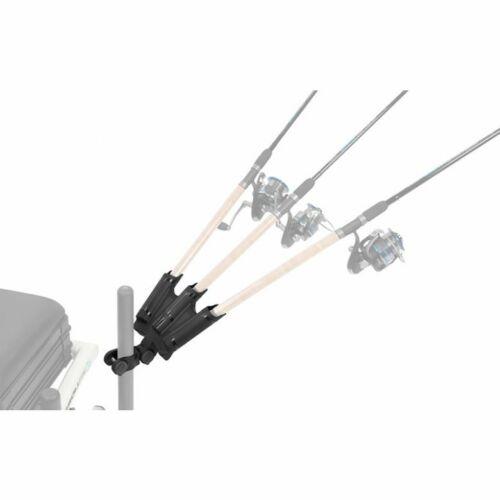 3er Rutenhalter für Feeder Stuhl /& Sitzkiepe Preston Offbox Triple Rod Support