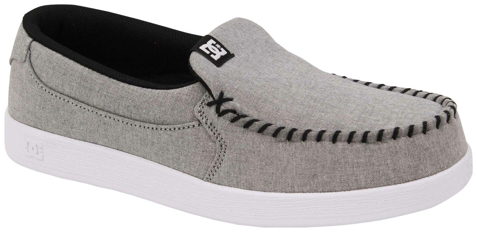 DC Villain TX SE shoes - Heather Grey - New