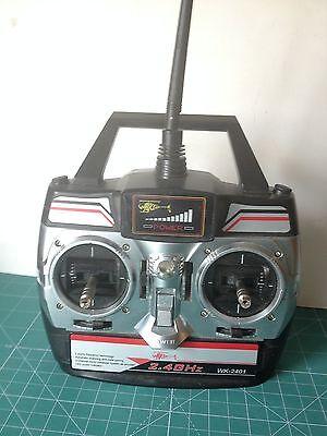 Walkera Transmisor 2,4 Ghz Wk-2401 Ver Foto Rinfrescante E Arricchente La Saliva