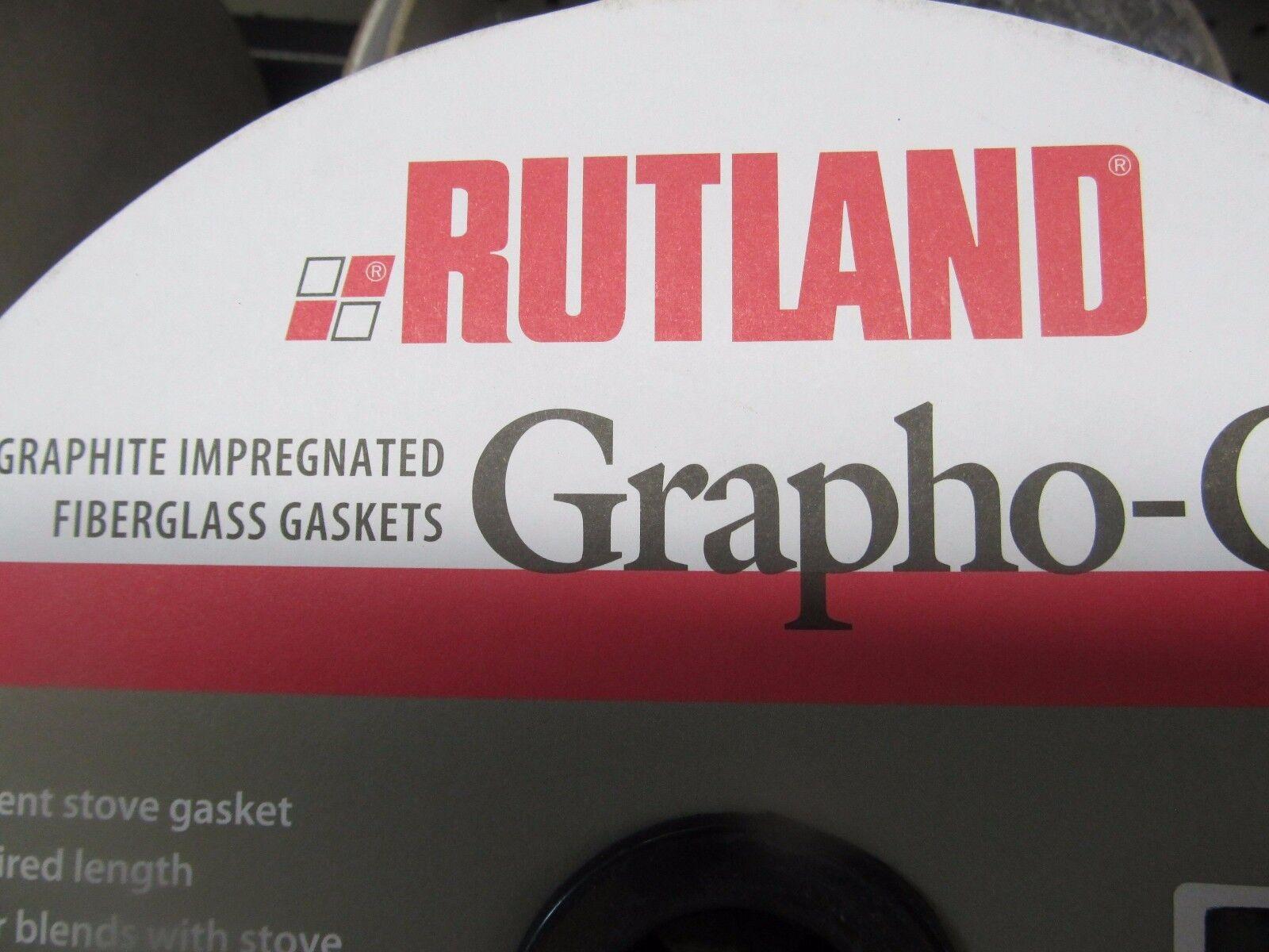 Rutland Grapho Glas Stove Gasket Full Roll  Braided Fiberglass Choose Größe