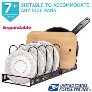 7-Layer-Expandable-Cabinet-Pan-Storage-amp-Pot-Lid-Organizer-Cookware-Rack-Holder