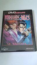 "DVD ""KENSHIN EL GUERRERO SAMURAI LA PELICULA"""