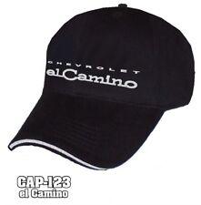 Hat Cap Licensed Chevrolet Chevy El Camino By Black HR 241