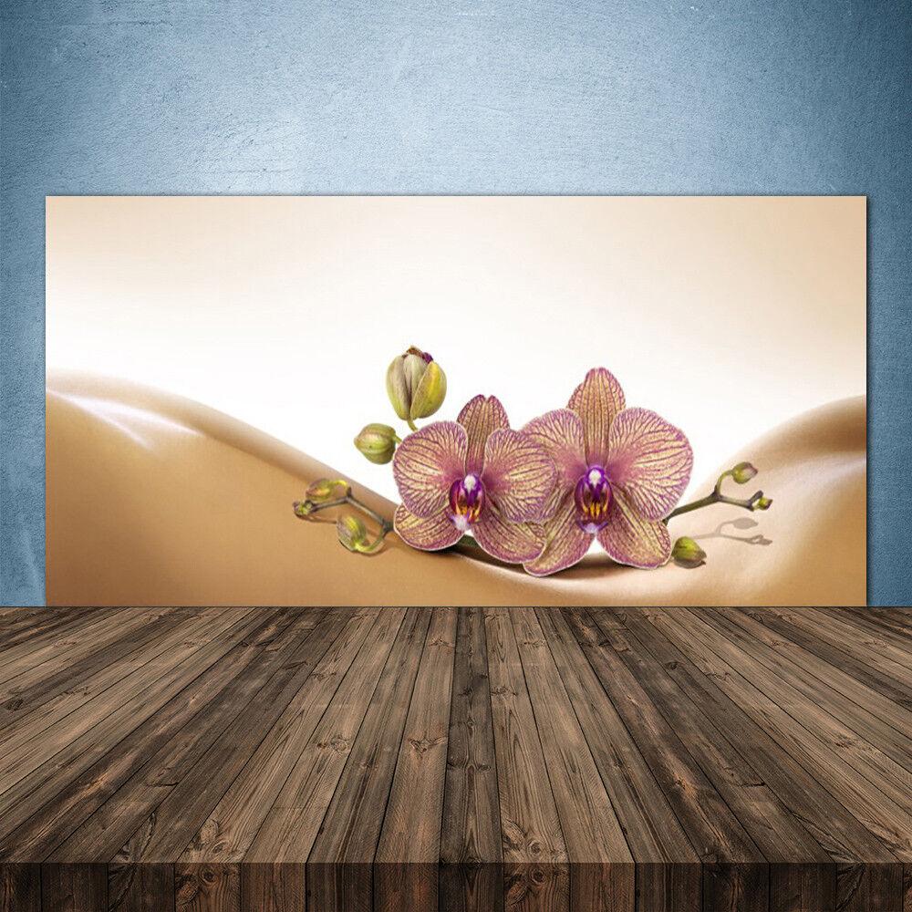 Crédence de cuisine en verre Panneau 140x70 Floral Arbres