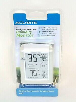 AcuRite My Backyard Weather Humidity Monitor 72397006194 ...