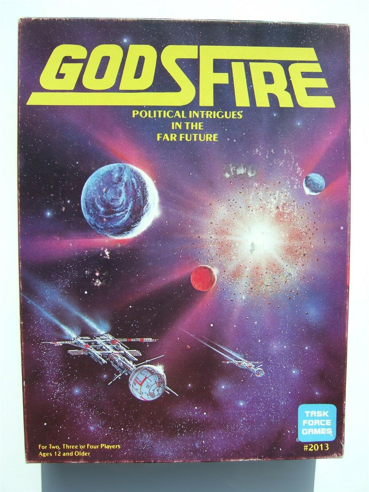 Godsfire, politische intrigen in der fernen zukunft durch die task force - spiele