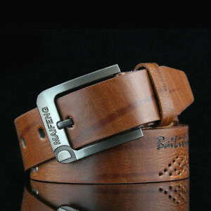 Classic-Men-Leather-Belt-Casual-Pin-Buckle-Waist-Belt-Waistband-Belts-Strap-New