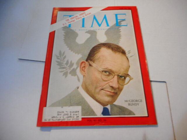 JUNE 25 1965 TIME news magazine - MCGEORGE BUNDY