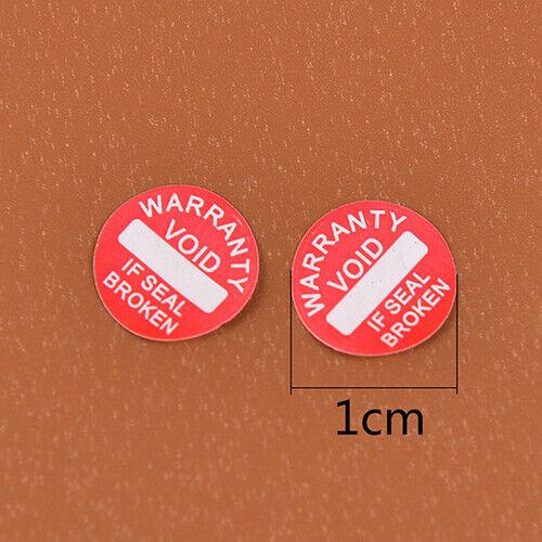 208Pcs Garantie Zerbrechliches Etikett Universelles Siegel LEERES Etik CL