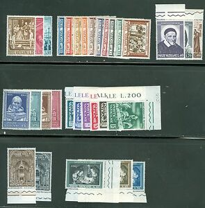 Vatican-City-1960-Compete-MNH-Year-Set