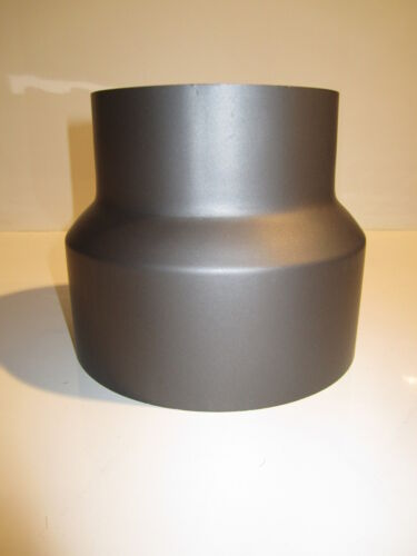 Hochwertige Reduktion Reduzierstück Reduzierung 130 120 Ofenrohr  Guss Grau