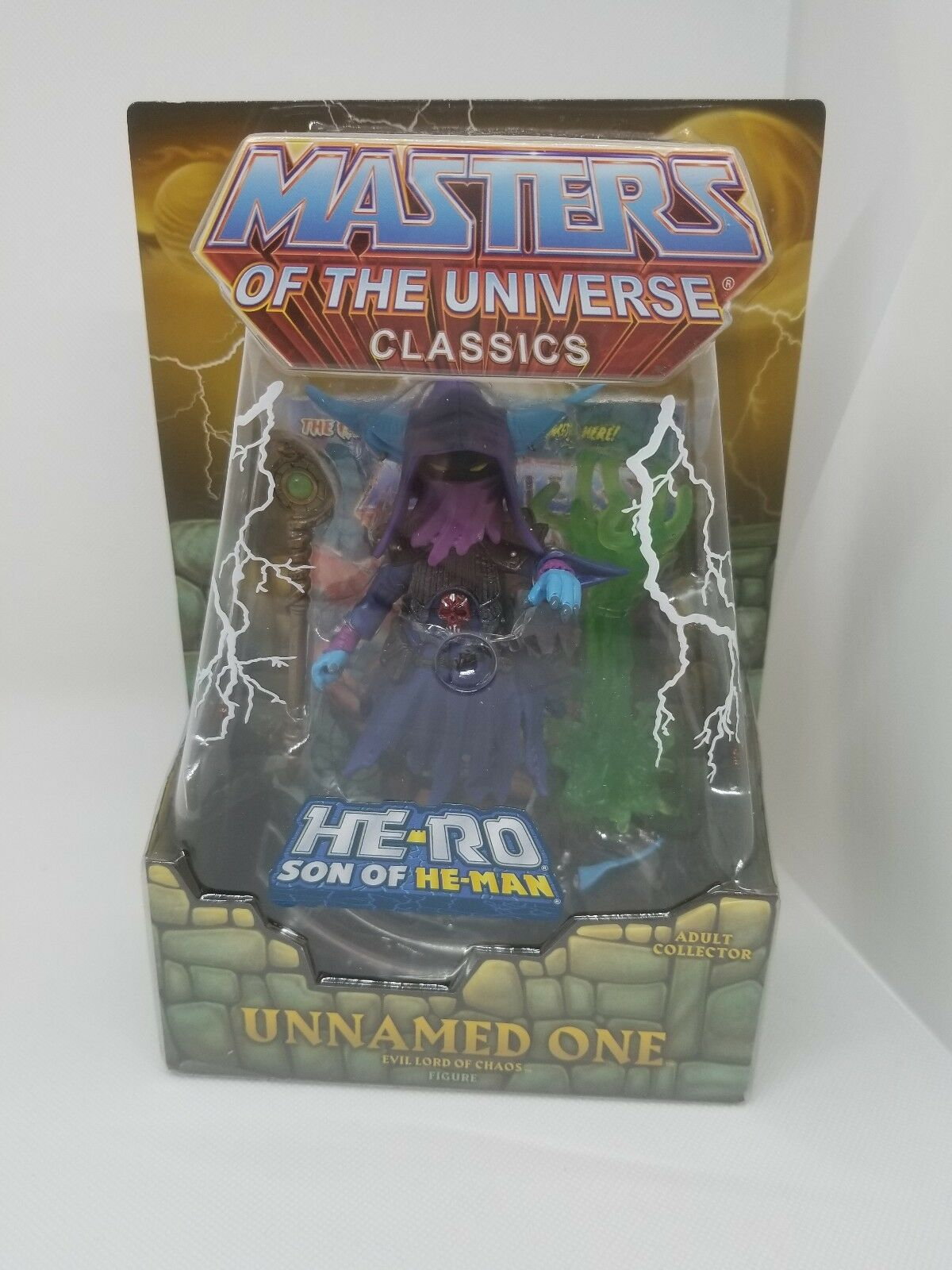 UNNAMED ONE MASTERS OF THE UNIVERSE CLASSICS MOTUC MOTU He-Ro Son of HE-MAN